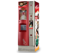 Кофейный автомат Saeco Quarzo 500, красный, полное ТО
