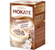 Капучино Mokate Сaffetteria Cappuccino Belgian Chocolate, 15гx10 шт