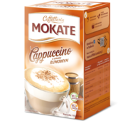 Капучино Mokate Сaffetteria Cappuccino Rum, 15гx10 шт