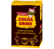 Какао напій DrinksToGo порційний, 20г*10шт