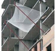 Сетка защитно-улавливающая капроновая рулонная для строек, 80х80, 5 мм