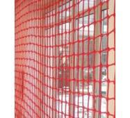 Сетка заградительная (разделительная) цветная для улиц и залов, 50х50, 4,5 мм