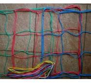 Сетка заградительная (разделительная) капроновая цветная для улиц и залов, 150х150, 3,5 мм