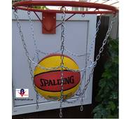 Сетка баскетбольная металлическая эконом