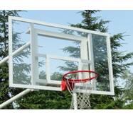 Щит баскетбольный 1200х900 мм (оргстекло 8 мм) с силовой антивибрационной рамой