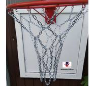Сітка баскетбольна металева ЛЮКС
