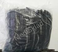 Одноразові шапочки спанбонд чорні , 100шт/уп.