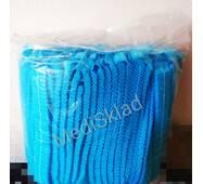 Одноразові шапочки спанбонд блакитні , 100шт/уп.