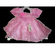 Платье розовое (в ростовке 1 шт.)