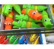Заводна іграшка Крокодил