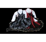 Комплект блузка и сарафан на девочку 4-6 лет