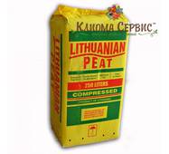"Торф ""Lithuanian peat"" в мешках по 250 л., 3.5-4.5 Ph, фракция 0-40 мм"