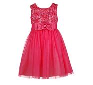 Вечірня сукня для дівчинки  коралового кольору