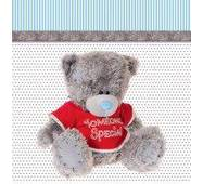 """Подарункові пакети """"Ведмедик Теді"""" 23 х 24 см   (6 шт./уп.)"""