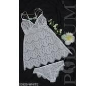 Жіночий комплект нижньої білизни Eleonora (WHITE)