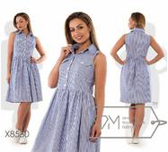 Платье женское батал р. 48,50,52,54   Фабрика Моды XL