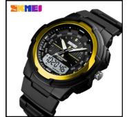 Спортивные часы Skmei 1454 золото 50 m водонепроницаемые (5АТМ)