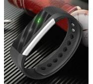 Фитнес-браслет SMARTIX ID115 LITE - Чёрный Шагомер, уведомления о вызовах и смс