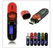 Спортивный MP3-плеер SSMP-01Q Чёрный  на 8GB с клипсой!