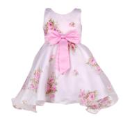 Нарядна сукня для дівчинки з ніжними кольорами