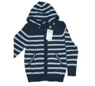 Модна кофта для хлопчика з капюшоном на блискавці, для зимового періоду, Туреччина