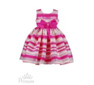 Нарядна сукня в смужку для дівчинки