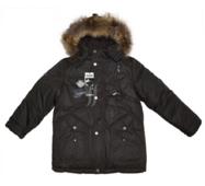 Куртка зимова для хлопчика на пуховому підстьобуванні Bilemi