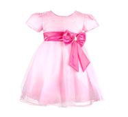 Вечірня  сукня для дівчаток з мерехтливим ліфом
