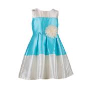 Дитяча випускна сукня для дівчаток з квіткою