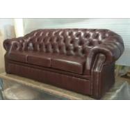 Шкіряний диван Віндзор для кабінету