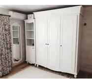 Белый 3х дверный шкаф Прованс