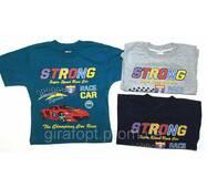 """Футболка спортивна для хлопчика 4-8 років """"Strong"""""""