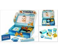 """Набір коробок для зберігання """"Мамині скарби"""", блакитний   1258241"""