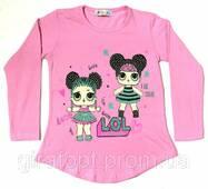 Туніка Лялечки Лол рожевий на вік 3-6 років