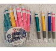 Ручка шариковая, автоматическая цвет синий (В-520)