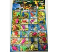 Био-гель Динозаврики   24 шт на листі (ціна за лист)