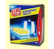 Таблетки для посудомоечной машины W5 40 шт Германия