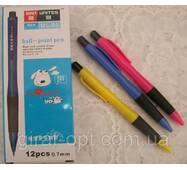 Ручка кулькова, автоматична, колір синій (ML - B5)