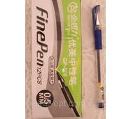 Ручка гелевая, цвет синий (GP-008)