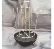 Шампурниця до тандиру Стандарт 1 з чавуною сковородою