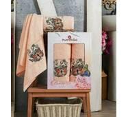 Набор турецких полотенец Merzuka Cotton Butterfly 2-ка