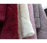 Меховое одеяло-покрывало травка с наполнителем