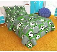"""Дитячий комплект постільної білизни"""" футбол зелений"""""""
