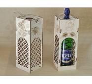 Упаковочная коробка для шампанского.