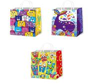 Подарункові пакети дитячі розмір 16 х 16 см (12 шт/уп)