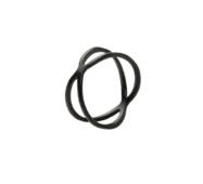 Кольцо Abbelin черное K076, 18 размер