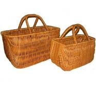 Набір сумок плетених з лози Корал з 2шт.