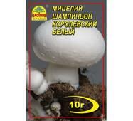 Мицелий гриба Шампиньон королевский белый 10г