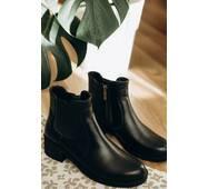 Ботинки кожаные демисезонные 37 (8250)