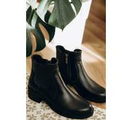 Ботинки кожаные демисезонные 38 (8250)